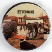 U2 - 'October' 32mm Badge